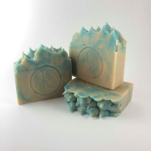 Blueberry Sweetart goat milk soap