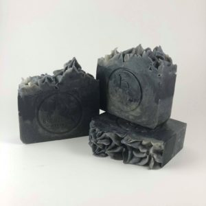 essence goat milk charcoal soap