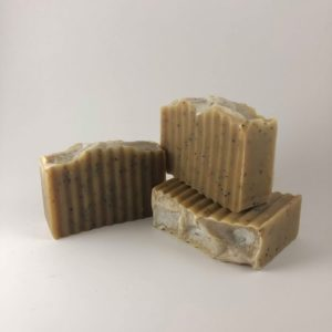 unscented coffee soap